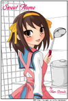 涼宮ハルヒさん二次創作漫画「SweetHome」