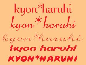 Kyonharufont